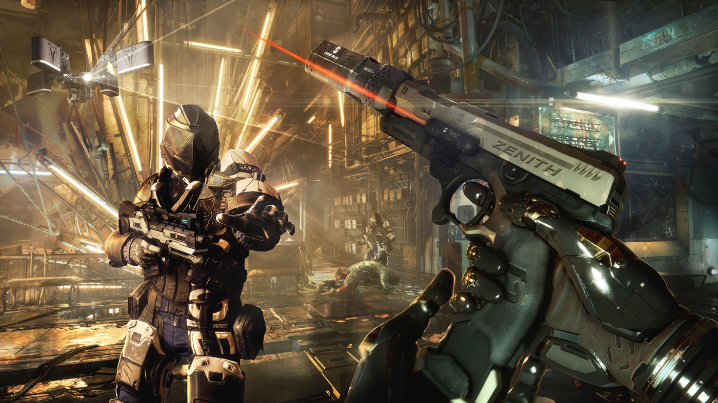Deus Ex: Mankind Revolution