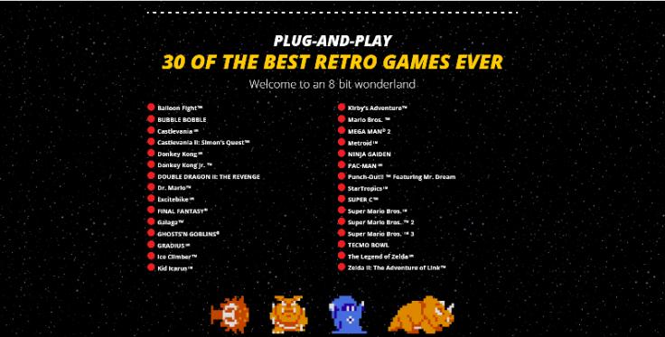 NES Classic Games List
