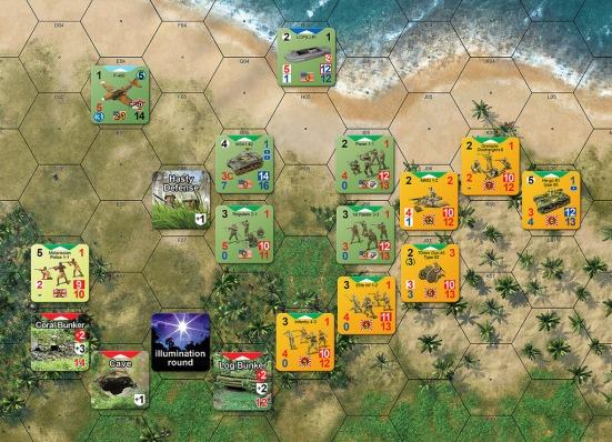 CoH Guadalcanal play
