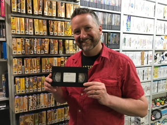 VHS tapes in the GI vault