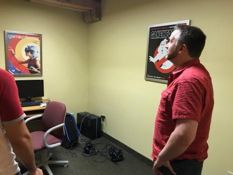 Game Informer VR studio