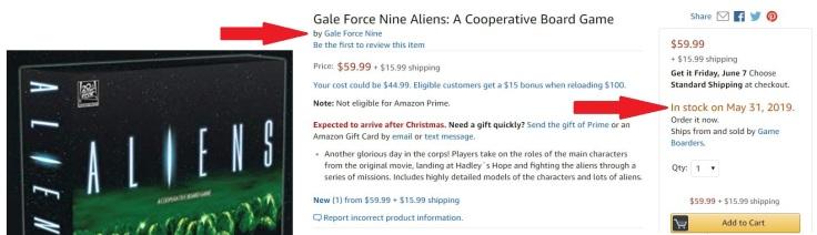 Aliens Amazon