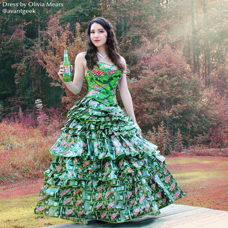 Oliva Mears' Mountain Dew Dress