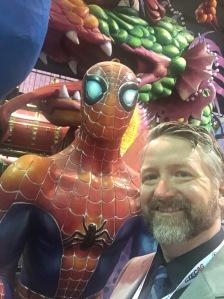 Spider-Man Float
