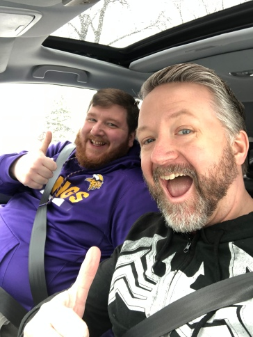 Who loves driving to Milwaukee? Apparently, Tom and Joey do.
