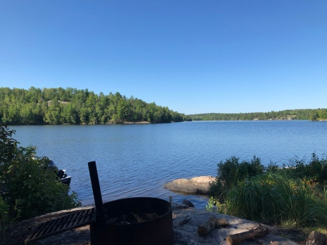Beautiful view of Lake Namakan.