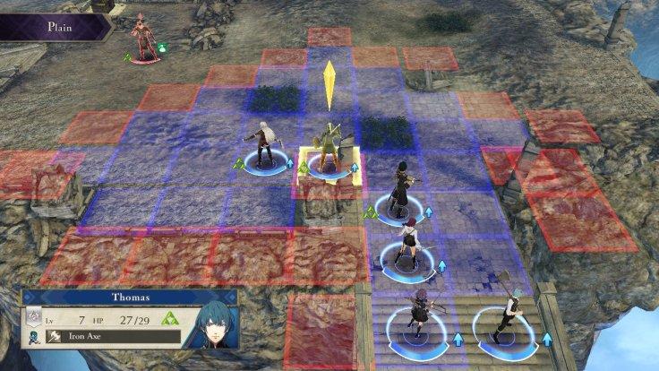 Fire Emblem battle