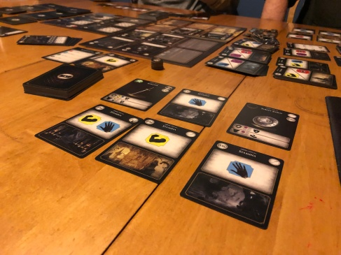 The Dark Souls Card Game forces you to balance gear and the right types of stamina to use it.