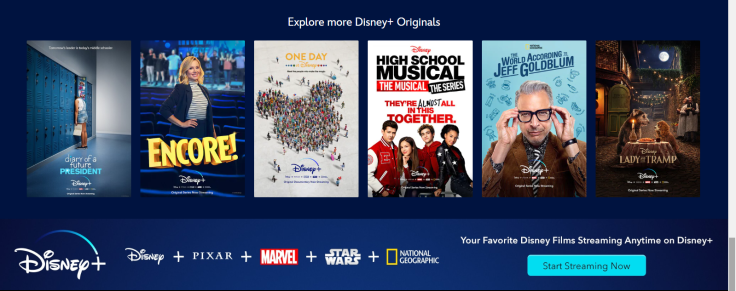 Other Disney+ options